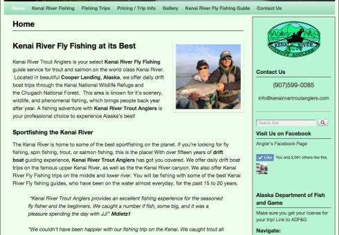 Kenai River Trout Anglers Home Page